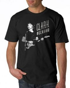 "Clark ""Live"" tee"